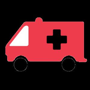 Heart Ambulance Icon